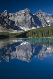Banff National Park Lake Moraine Stock Images
