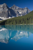 Banff National Park Lake Moraine Royalty Free Stock Photography