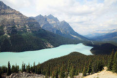 Banff National Park Royalty Free Stock Image