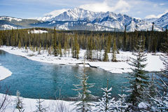 Banff National Park. Road trip, Banff National Park Royalty Free Stock Images
