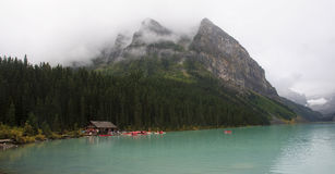 Banff National Park - view of Lake Louise Stock Photos