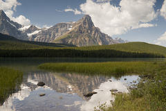 Banff National Park Waputik Range Royalty Free Stock Photo
