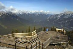 Banff nationalpark - Alberta - Kanada Arkivfoton