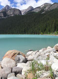 Banff nationalpark Lake Louise Royaltyfri Foto