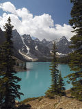 Banff-Nationalpark - Moraine See - Kanada Lizenzfreies Stockbild