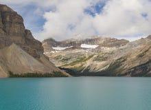 Banff nationalpark, pilbåge sjö, Alberta Canada Arkivfoton