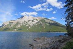 Banff-Naturlandschaft stockfoto