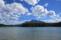 Banff-Naturlandschaft lizenzfreie stockfotografie