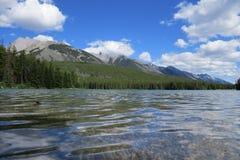 Banff-Naturlandschaft stockbild