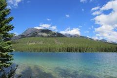 Banff-Naturlandschaft Lizenzfreie Stockfotos