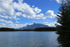 Banff-Naturlandschaft Lizenzfreies Stockfoto