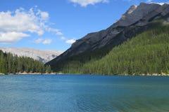 Banff-Naturlandschaft Stockfotos