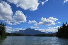 Banff-Naturlandschaft Lizenzfreies Stockbild