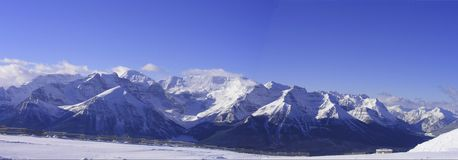 Banff Panoramic Royalty Free Stock Image