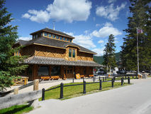 Banff Park Museum. National Historic Site of Canada. Banff town, Alberta Royalty Free Stock Photography