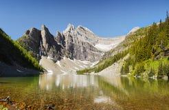 Banff park narodowy, Jeziorny Agnes Zdjęcia Royalty Free