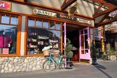 Banff söt Shoppe, Banff aveny Royaltyfri Foto