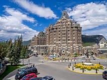 Banff Skacze hotel Obrazy Stock