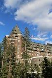 Banff Skacze hotel w Kanadyjskich Skalistych górach Fotografia Royalty Free