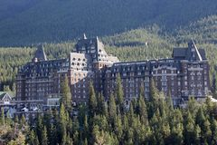 Banff Spring Hotel Royalty Free Stock Image
