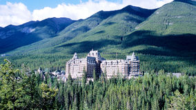 Banff springs Royalty Free Stock Photography