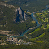 Banff Springs Hotel Stock Photography