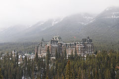 Banff Springs Hotel Royalty Free Stock Image