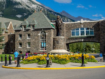 Banff Springs Hotel Стоковые Фото
