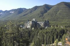 Banff Springs Hotel, Banff Stock Photography