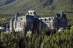 Banff Springs Hotel, Banff Royalty Free Stock Image