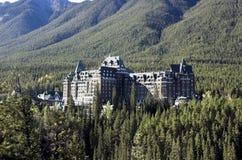 Banff Springs Hotel, Banff stock image