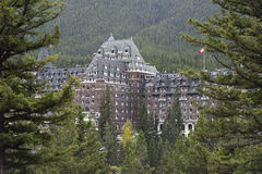 Banff Springs Hotel, Banff, Alberta, Canada Royalty Free Stock Photo