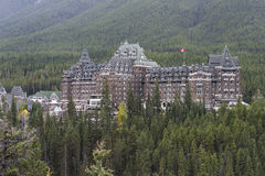 Banff Springs Hotel, Banff, Alberta, Canada Royalty Free Stock Photography