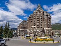 The Banff Springs Hotel Stock Image