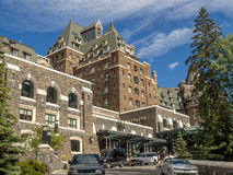 The Banff Springs Hotel Stock Photography