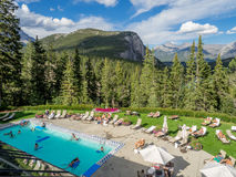 The Banff Springs Hotel Stock Photos
