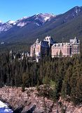 Banff Springs Hotel, Canada. Stock Photography
