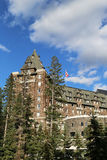 Banff Springs Hotel in the Canadian Rockies Royalty Free Stock Photography