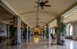 The Banff Springs Hotel Royalty Free Stock Photo
