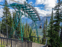 Banff Sulphur Mountain Gondola Royalty Free Stock Photo