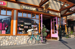 Banff Sweet Shoppe, Banff Avenue Royalty Free Stock Photo