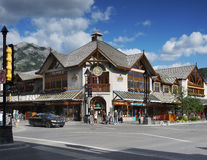 Banff Town Stock Photo