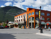 Banff Town Centre Royalty Free Stock Image
