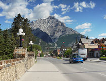 Banff Town Royalty Free Stock Images