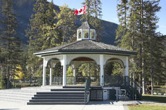 Banff Townsite Stock Image