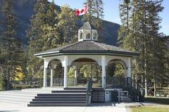 Banff Townsite Stock Image