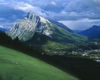 Banff Townsite Foto de archivo