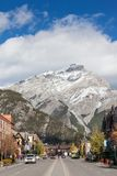 Banff Townsite in the Canadian Rockies, Canada Royalty Free Stock Image