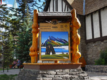 Banff  Visitor Centre Stock Photography