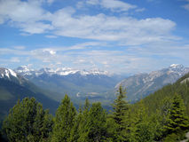 Banff Vista Royalty Free Stock Photos